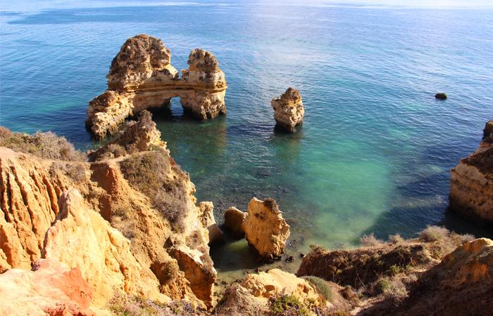 Ponte de Piedade in Lagos – Algarve