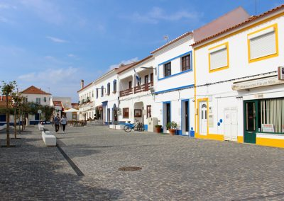 Stadtkern Vila Nova de Milfontes