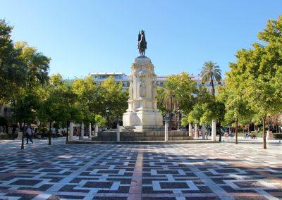 Plaza Nueva in Sevilla