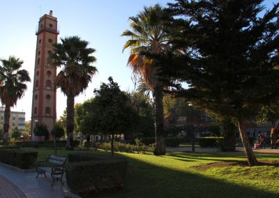Torre de Los Perdigones und die Camara Oscura – auf einer Höhe von 45 m genießt man einen wunderschönen Blick auf die Stadt.