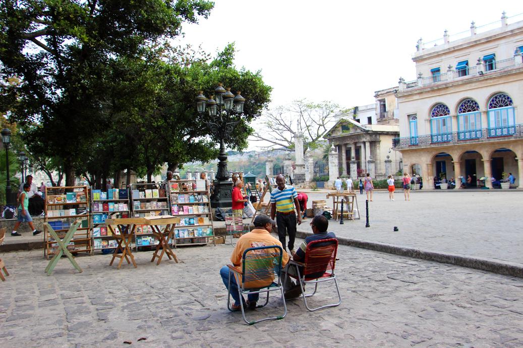 Flohmarkt am Plaza de Armas