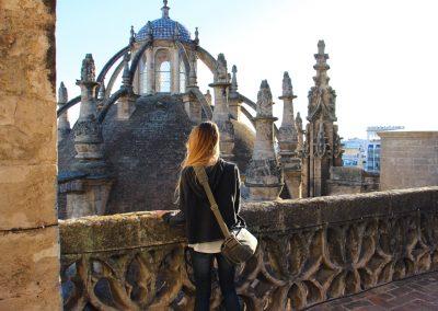 Eine Führung auf den Dächern der Kathedrale bietet einmalige Einblicke