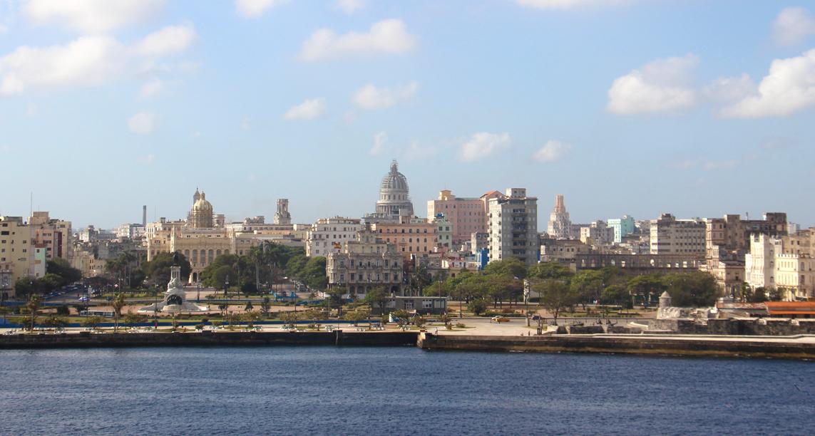 Blick auf die Skyline von Havanna