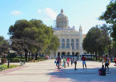 Das Museo de la Revolucion, befindet sich im ehemaligen Präsidentenpalast.