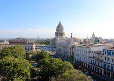 Ausblick vom Hotel Iberostar auf den Parque Central