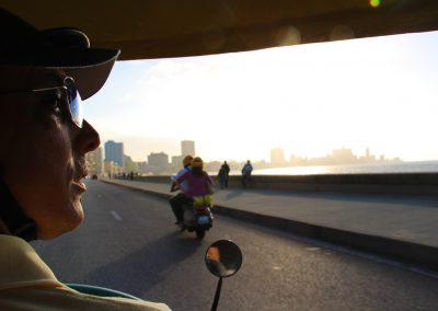 Mit dem Coco-Taxi durch Havanna