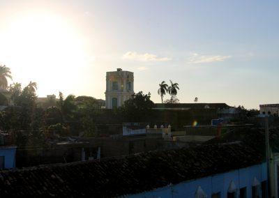 Sonnenuntergang in der Stadt Trinidad