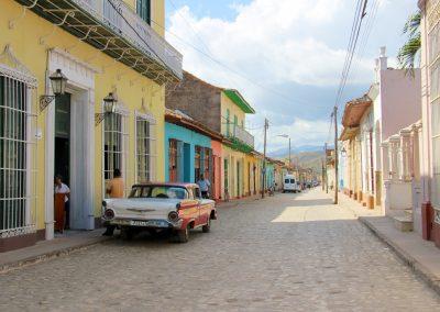 In den Gassen von Trinidad unterwegs