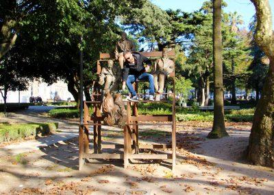 Stadtpark von Porto