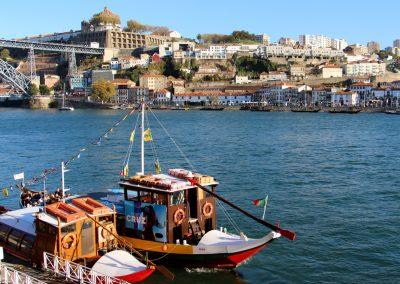An der Ribeira mit Blick nach Vila Nova de Gaia