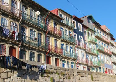 Die Buntenhäuser an der Ribeira sind ein tolles Fotomotiv