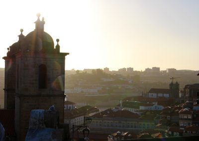 Sonnenuntergang in Porto