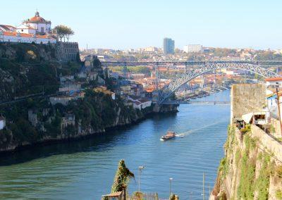 Der Douro und die Brücke Dom Luís I