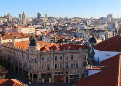 Ausblick vom Torre dos Clérigos