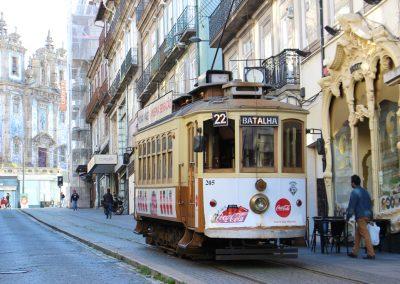 Die nostalgischen Straßenbahnen in Porto