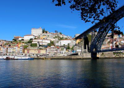 Porto und die Brücke Dom Luís I