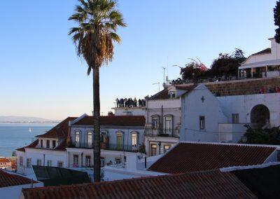 Ausblick auf den Miradouro Portas do Sol