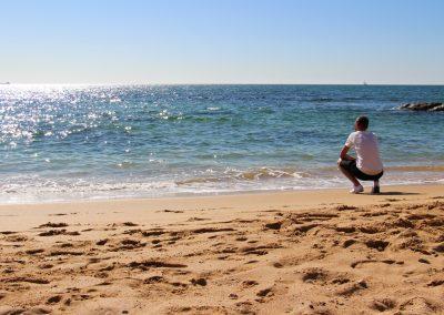 Estoril - Einfach mal das Rauschen des Meeres genießen.