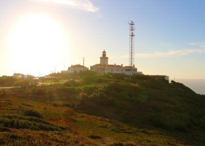 Auf dem Weg zum Cabo da Roca