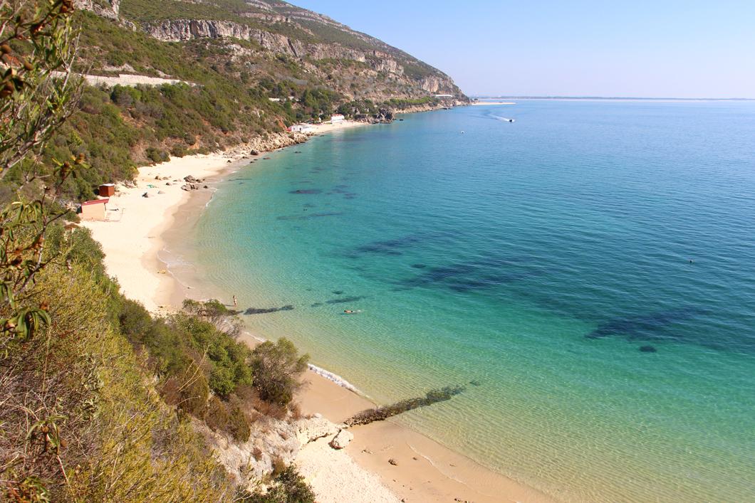 Praia de Galapinhos in Setubal