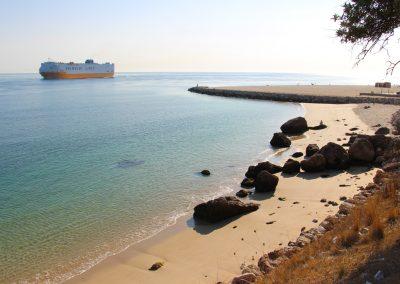 Kleine Bucht und am Spitz der Praia da Figueirinha