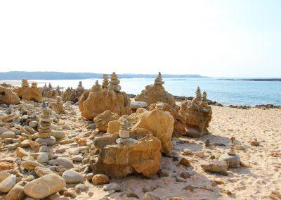 Praia do Farol – Steintürme