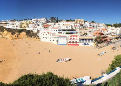 Carvoeiro an der Algarve