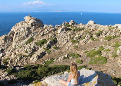 Capo Testa, eine unglaublich beeindruckende Lanschaft mit Blick nach Korsika