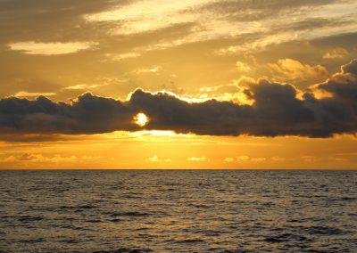 Sonnenaufgang am Meer!