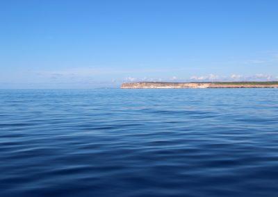 Spiegelglatt – ein ruhiger Tag vor der Küste von Mallorca